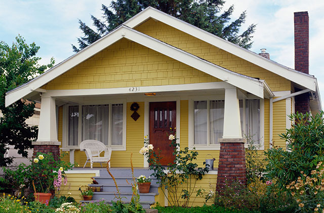 suburban bungalow