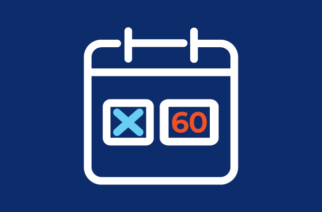 60 Day Payment Deferral Icon