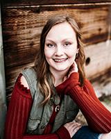 Hannah DeHut Sound Credit Union Scholarship Recipient
