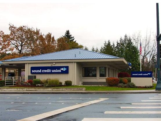 Sound Credit Union's Redmond Branch Building