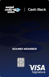 Sound Credit Union Cash Back Credit Card