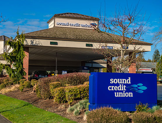 Sound Credit Union's Olympia Branch Building