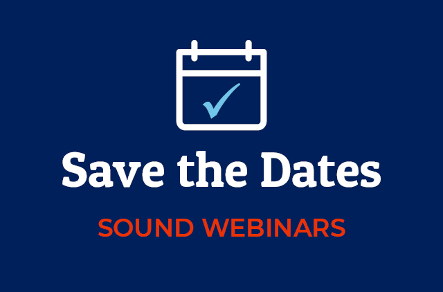 Save the Date Webinars