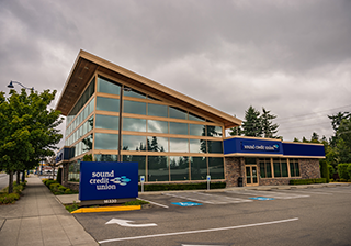 Sound Credit Union Shoreline Branch Building
