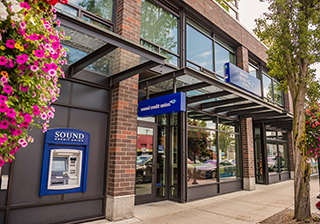 Sound Credit Union West Seattle Branch